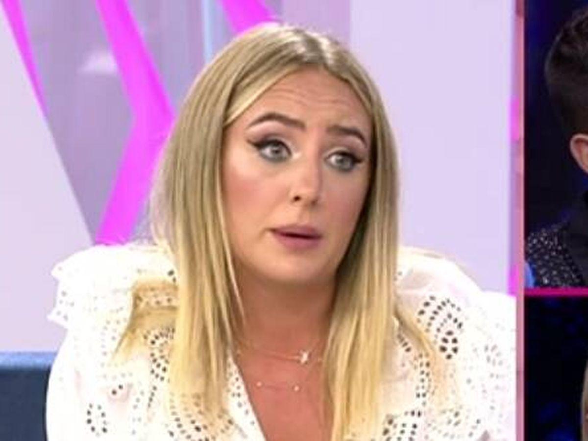 Foto: Rocío Flores en 'El programa de Ana Rosa'. (Mediaset España)