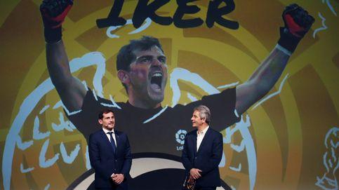 Casillas en el nuevo proyecto 'LaLiga Icons' y tasa de vacantes de empleo: el día en fotos