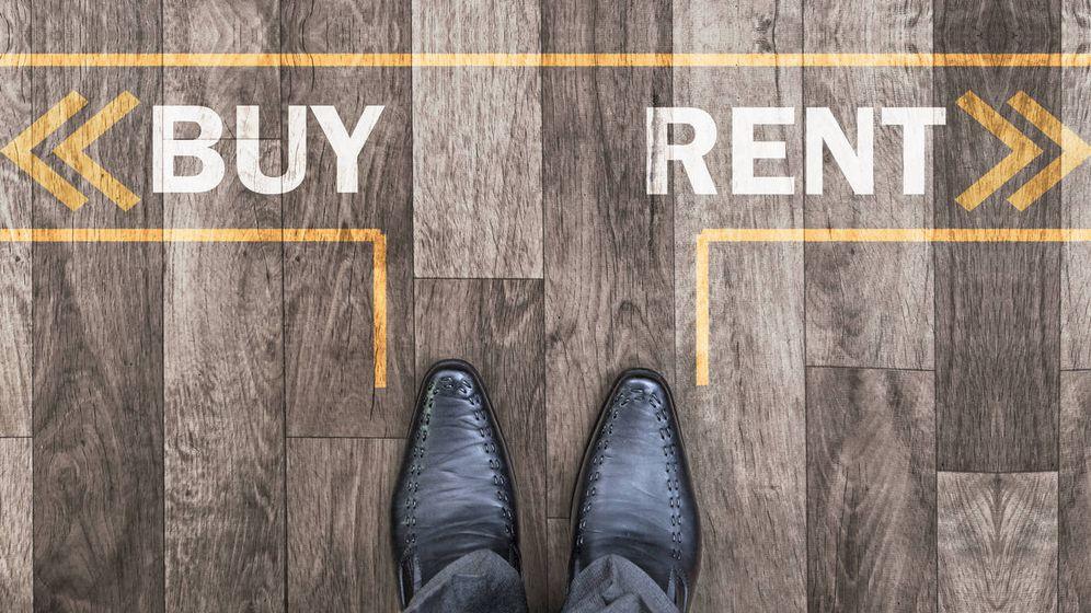 Foto:  Si pagases lo mismo de alquiler que de hipoteca, ¿comprarías casa?. Foto: Istockphoto.