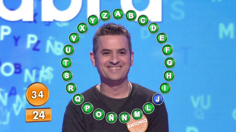 El concursante Antonio Ruiz. (Mediaset)