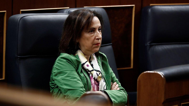 La ministra de Defensa, Margarita Robles. (EFE)