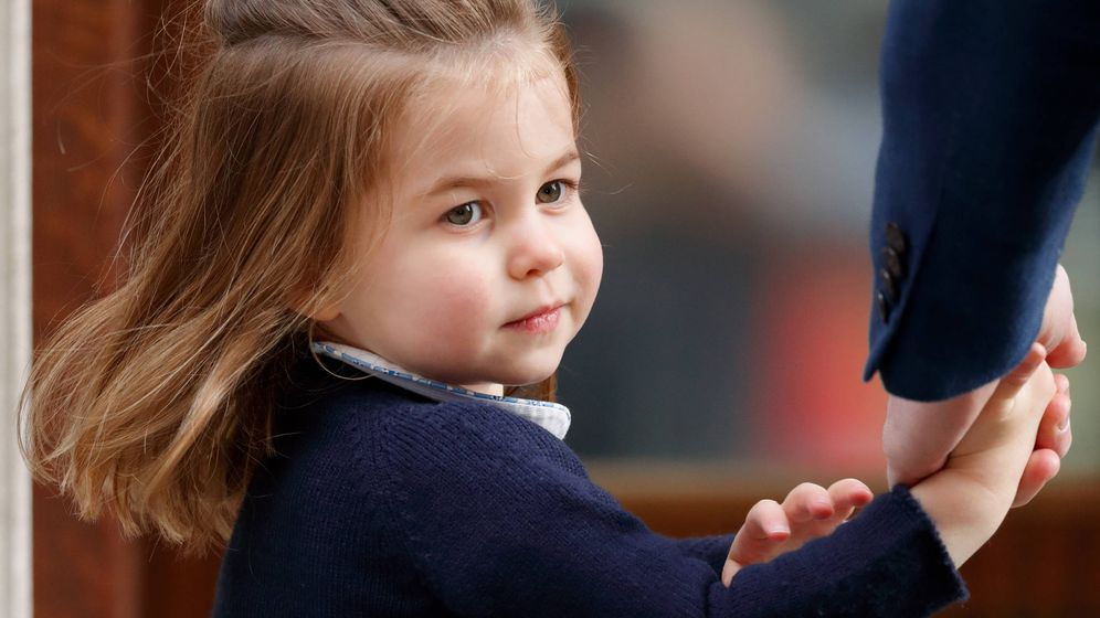 Foto: La princesa Charlotte. (Getty Images)