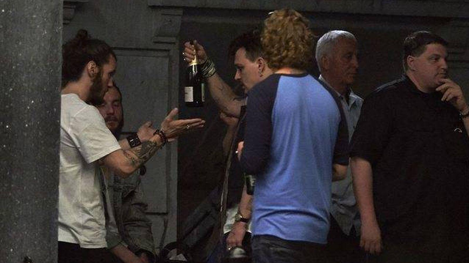 Foto: Johnny Depp con sus amigos de 'Hollywood Vampires'