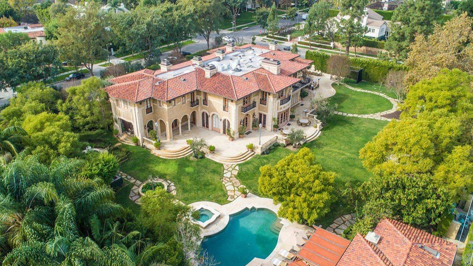 Foto: Vista general de la villa de estilo italiano. (The Agency)