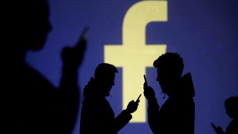Foto: El logo de Facebook. (Reuters)