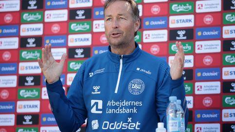 El seleccionador danés explota contra la UEFA: Sentimos que nos presionaron