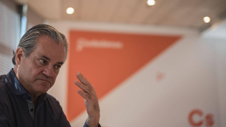 Foto: El portavoz económico de Ciudadanos, Marcos de Quinto. (Jorge Álvaro Manzano)