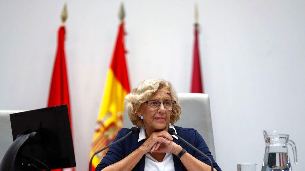 Foto: La alcaldesa de Madrid, Manuela Carmena, comparecerá este martes en una comisión extraordinaria para dar explicaciones sobre las contrataciones en Madrid Destino. (EFE)
