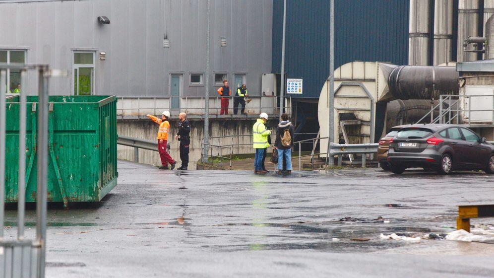 Foto: El cadáver de un hombre ha sido localizado en una planta de biocompost del polígono industrial de Jundiz, en Vitoria (EFE)