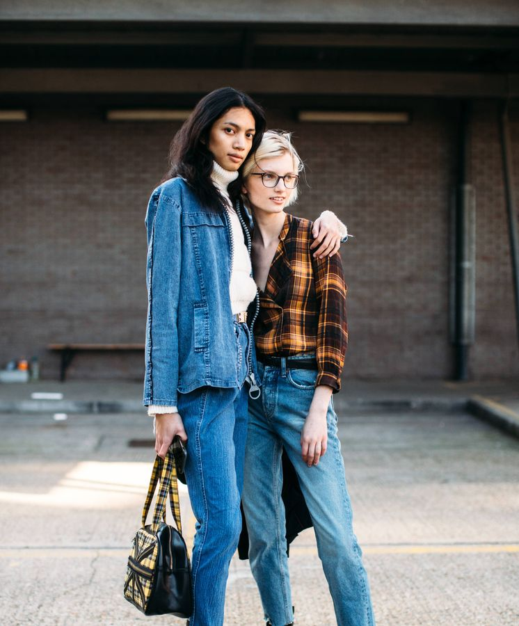 Foto: Inspírate en propuestas como estas, de la Semana de la Moda de Londres, gracias a Massimo Dutti. (Imaxtree)