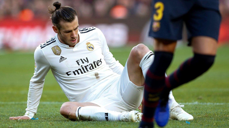 Bale, en el Clásico. (EFE)