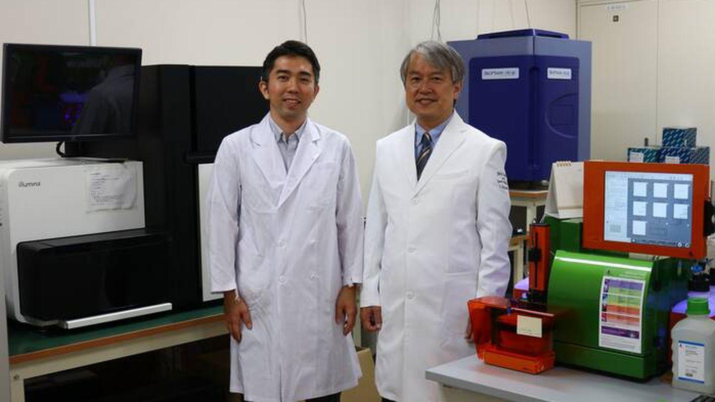 Ichiro Sekiya y Mitsuru Mizuno