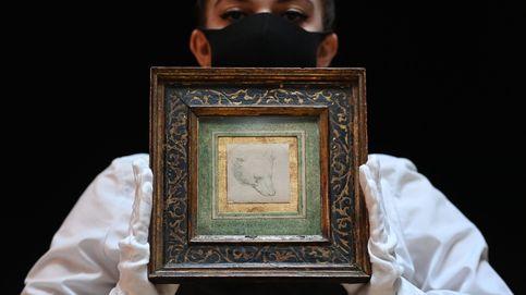 Un pequeño y raro boceto de un oso marca un nuevo récord en una subasta de Da Vinci