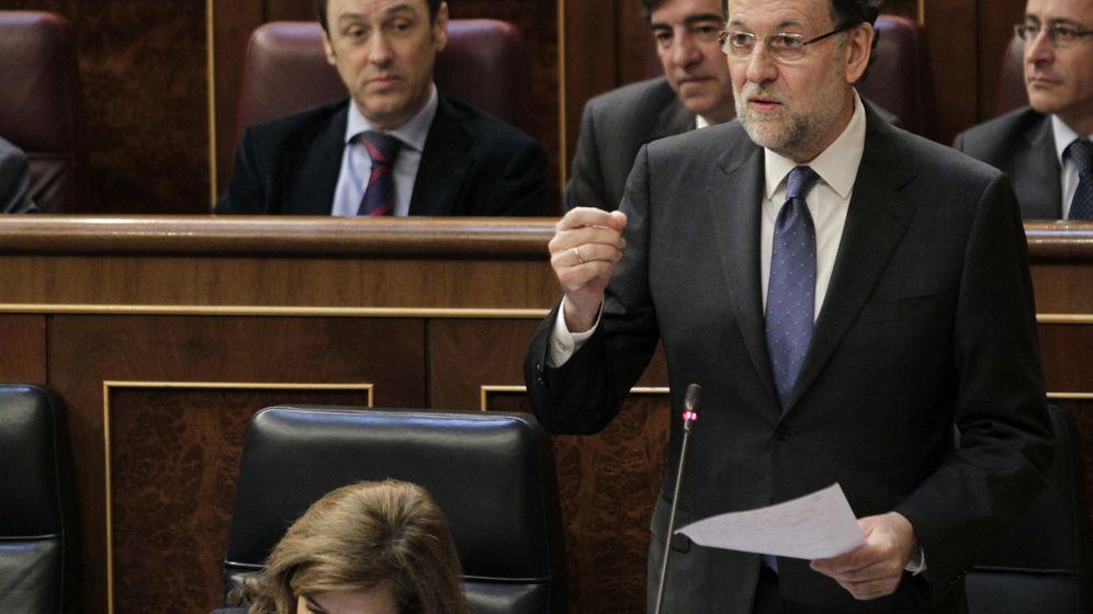 Foto: Mariano Rajoy durante una intervención en el Congreso. (EFE)