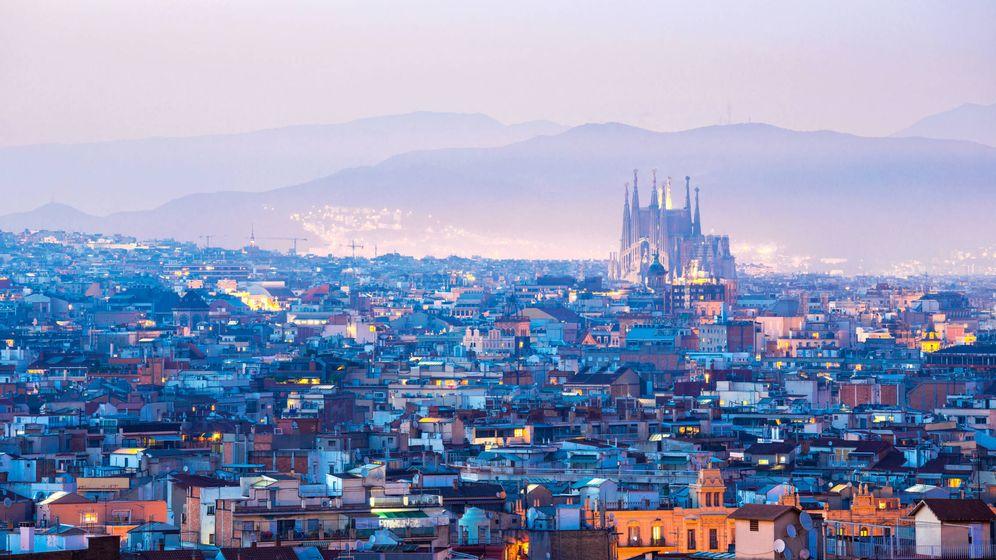 Foto: Barcelona con la Sagrada Familia al fondo. (Foto: Gtres)