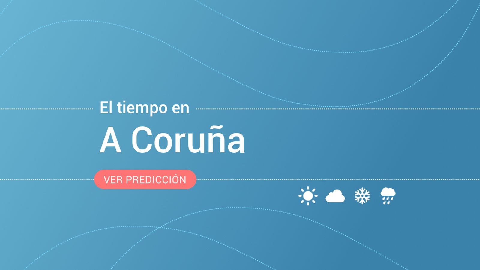 Foto: El tiempo en A Coruña. (EC)