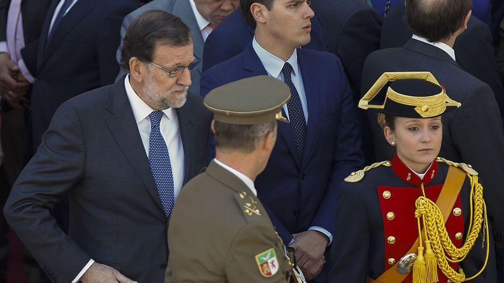 Rivera solo piensa en un acuerdo con el PP si se pacta la salida de Rajoy