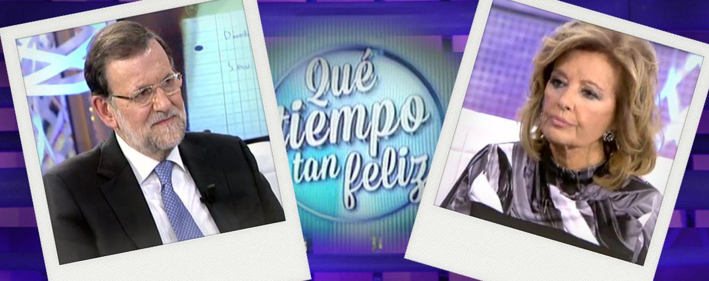 Foto: Mariano Rajoy y María Teresa Campos en un montaje realizado por Vanitatis