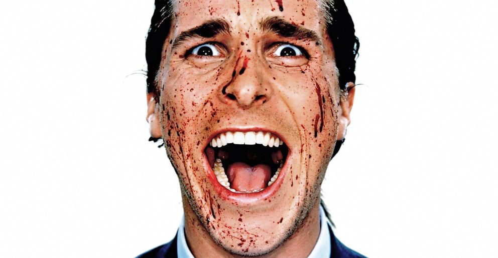 Foto: Christian Bale en una imagen de American Psycho