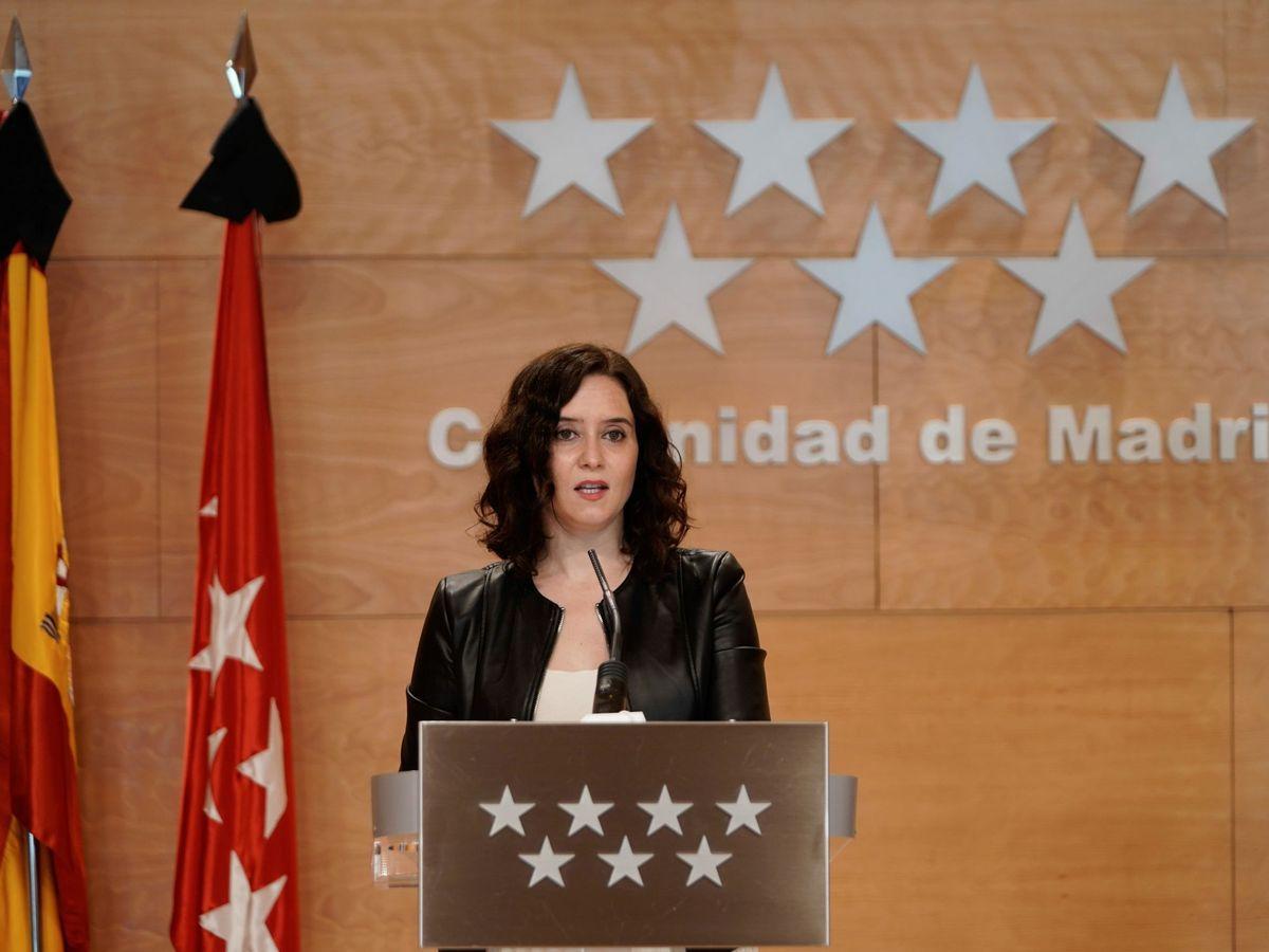 """Foto: Ayuso niega una ruptura de pp y cs pero investigará el """"delito"""" del contrato"""