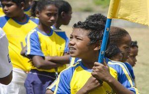 Un balón de fútbol unirá en el Mundial de Río de Janeiro a los olvidados niños de la calle