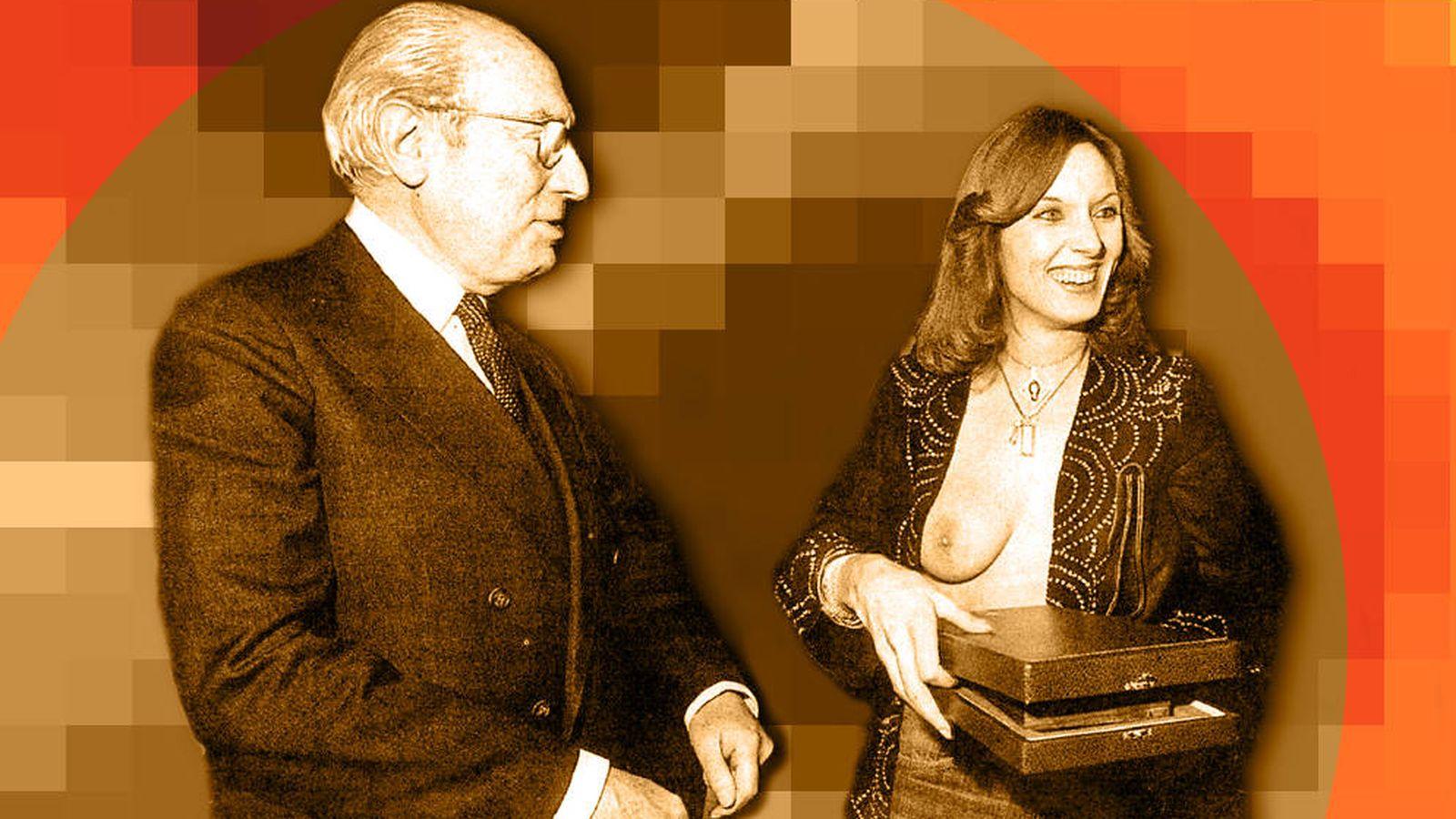 Foto: Tierno Galván y Susana Estrada, duelo de titanes (montaje: Carmen Castellón)