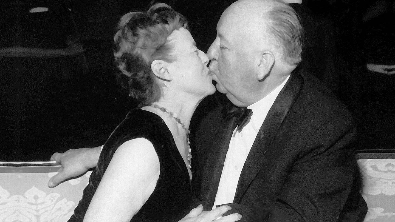 Alfred Hitchcock y Alma Reville, en una imagen de archivo. (Cordon Press)