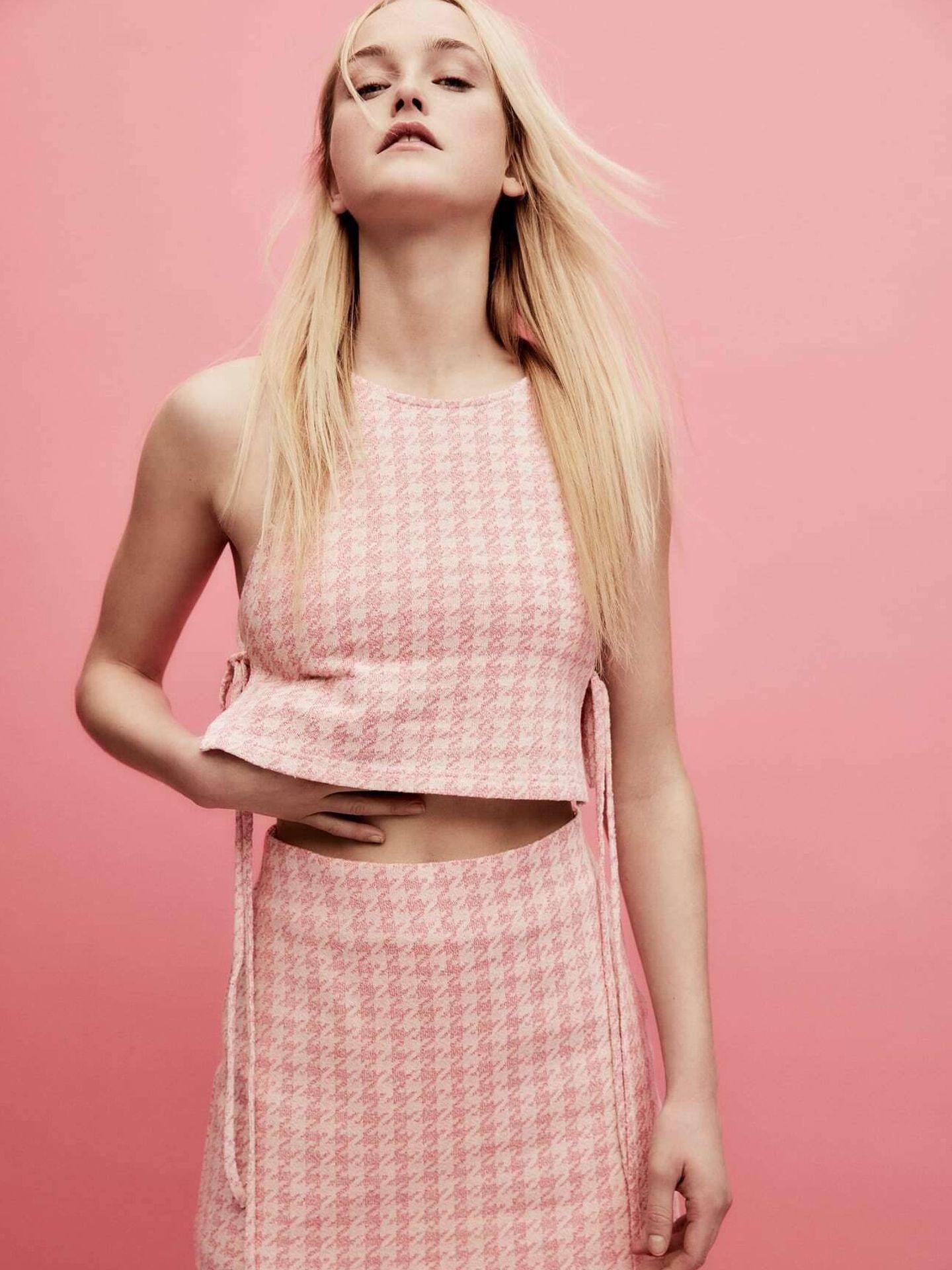 La nueva falda pantalón de Zara. (Cortesía)