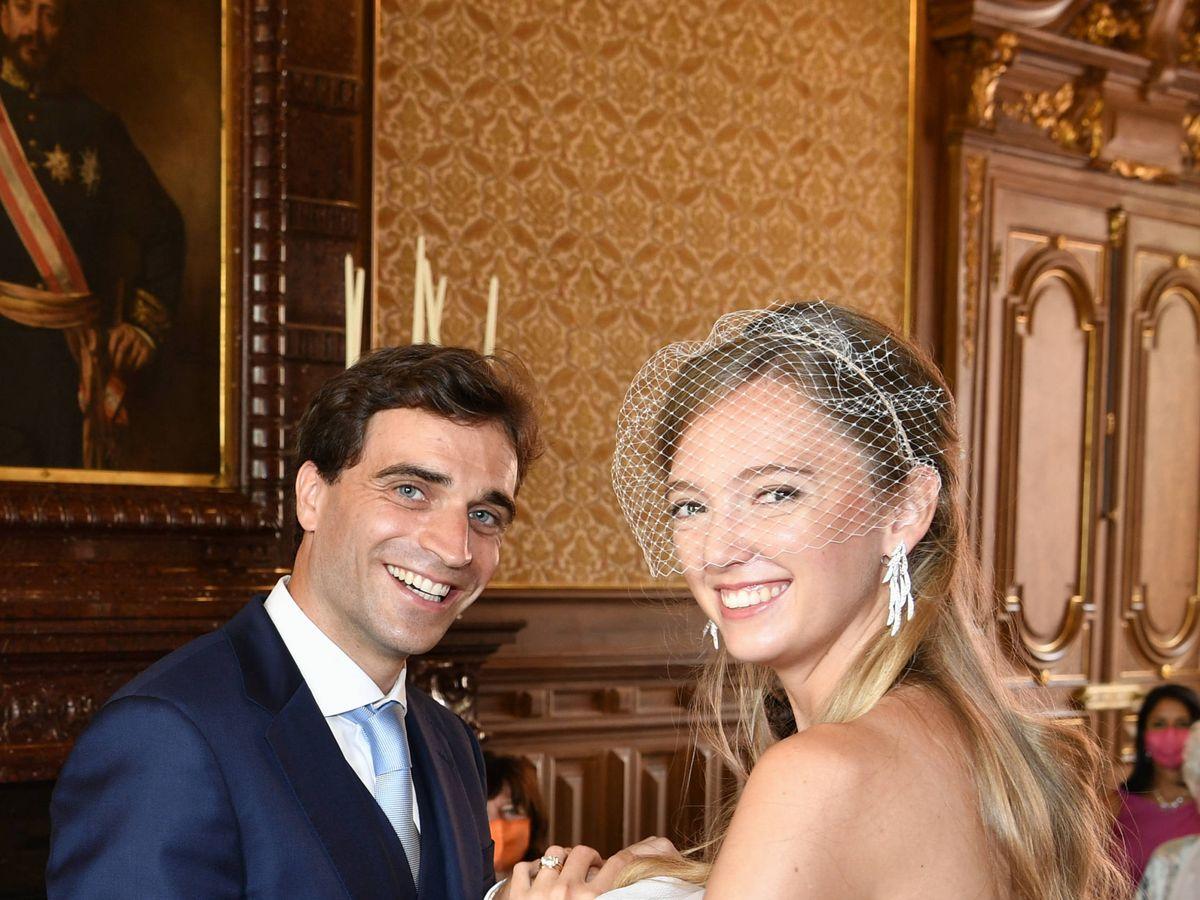 Foto:  Eleonore de Habsburgo y Jérôme D'Ambrosio. (Getty)
