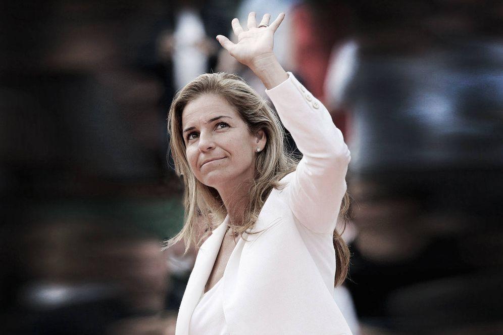 Foto: Arantxa Sánchez Vicario en una imagen de archivo. (Gtres)