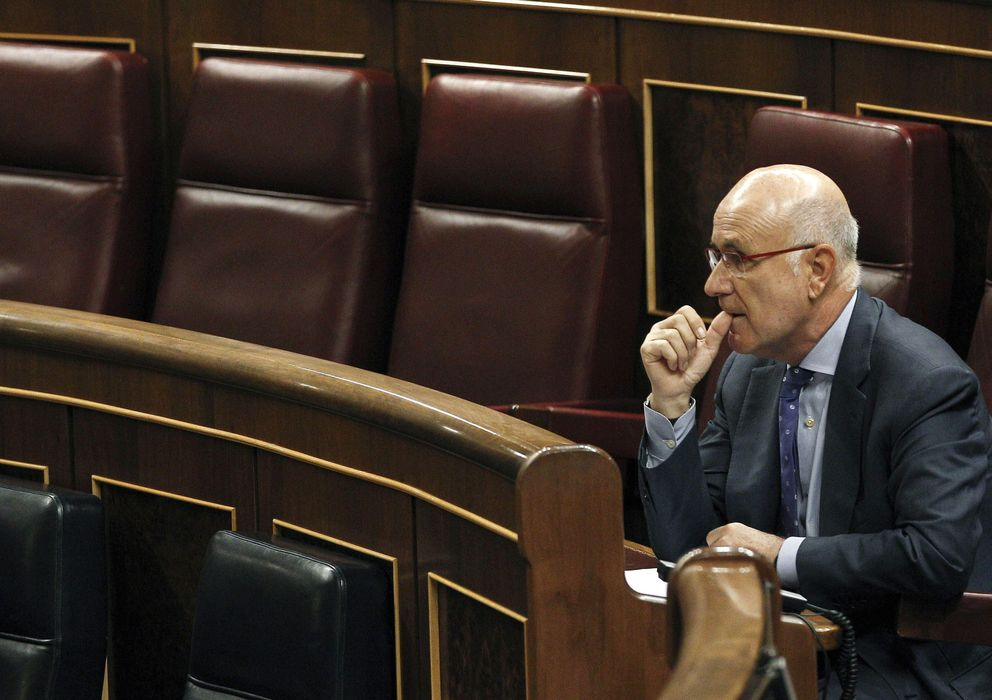 Foto: El portavoz de CiU, Josep Antoni Duran i Lleida (EFE)
