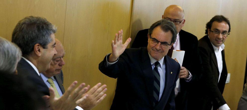 Foto: Artur Mas, en la reunión extraordinaria de la Ejecutiva de CDC del pasado diciembre. (Efe)