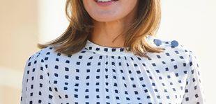 Post de El nuevo vestido de la reina Letizia le juega una mala pasada en Salamanca