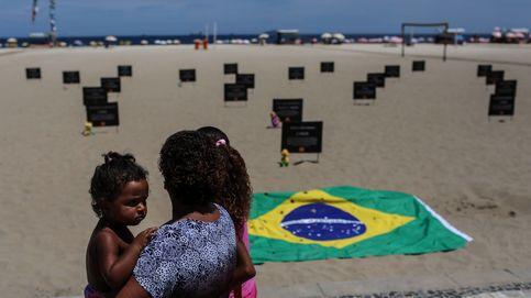 Protesta en Brasil contra las muertes por balas perdidas