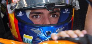 Post de La reacción de Carlos Sainz tras sus primeros puntos en McLaren