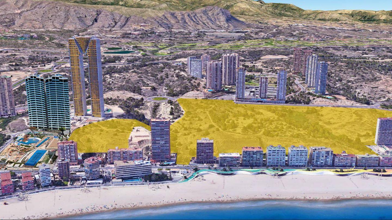 Terrenos adquiridos por TM Grupo Inmobiliario en Benidorm.