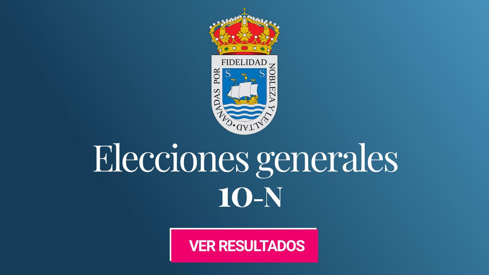Foto: Elecciones generales 2019 en San Sebastián. (C.C./EC)