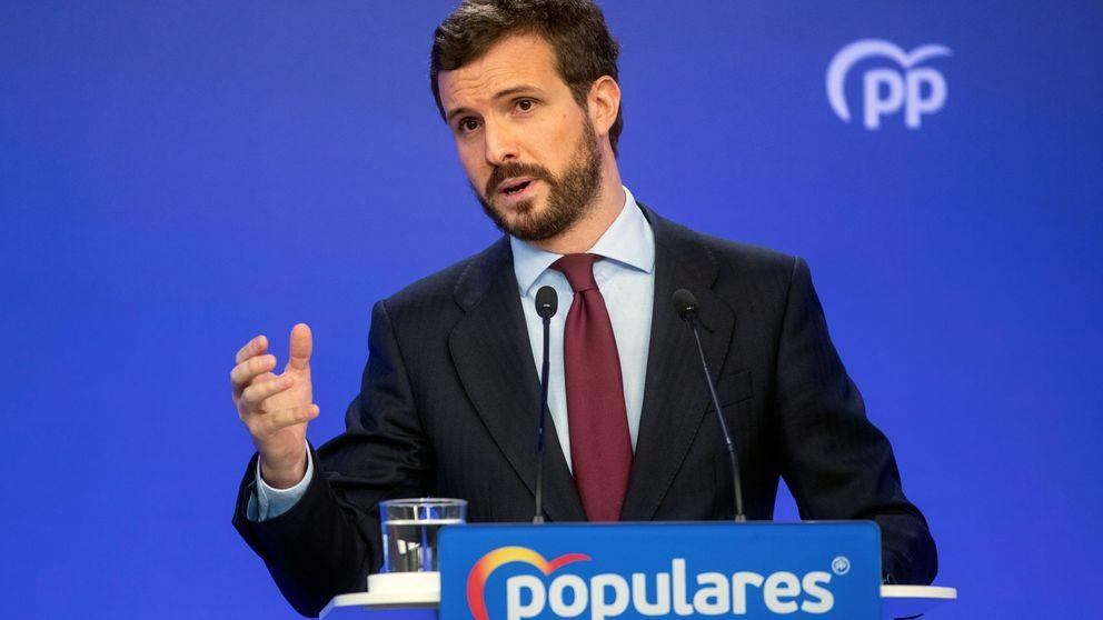 Casado, contra Sánchez: Las medidas son tiritas que no taparán la hemorragia