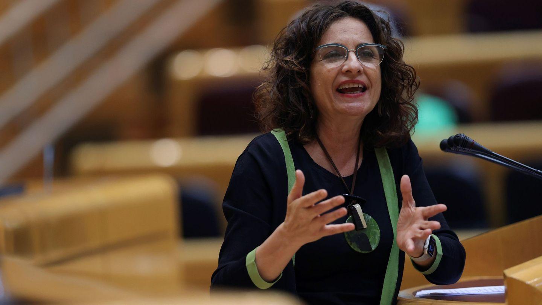 La ministra de Hacienda y Presupuestos, María Jesús Montero. (EFE)
