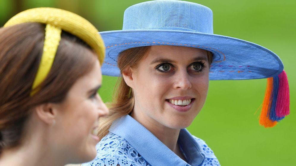 Foto: La princesa Beatriz, en Ascot. (Reuters)