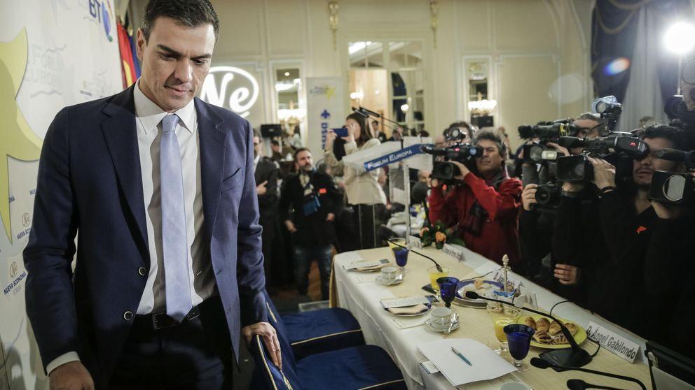 Sánchez llama a concentrar el voto de izquierdas porque Iglesias se desfonda