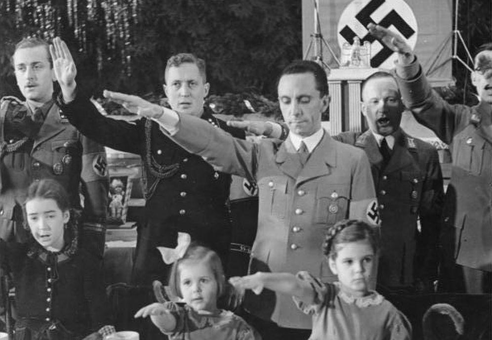 Foto: Joseph Goebbels en Berlín