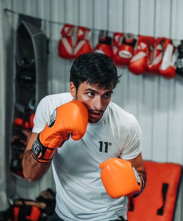 Foto: Carlos Sainz ha incorporado el boxeo en su preparación para 2020. (Carlos Sainz)