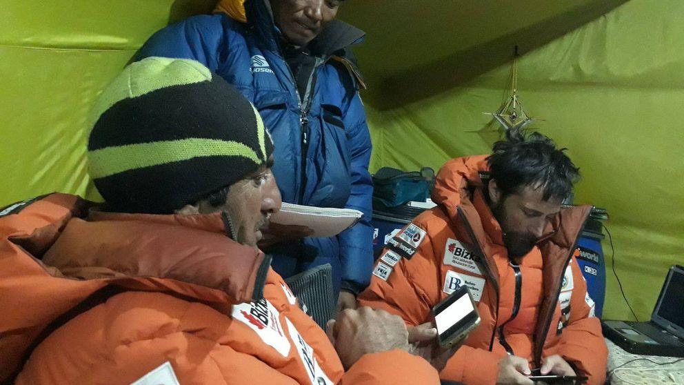 Así decidió Txikon no atacar el Everest: Si te equivocas, el viento te mata