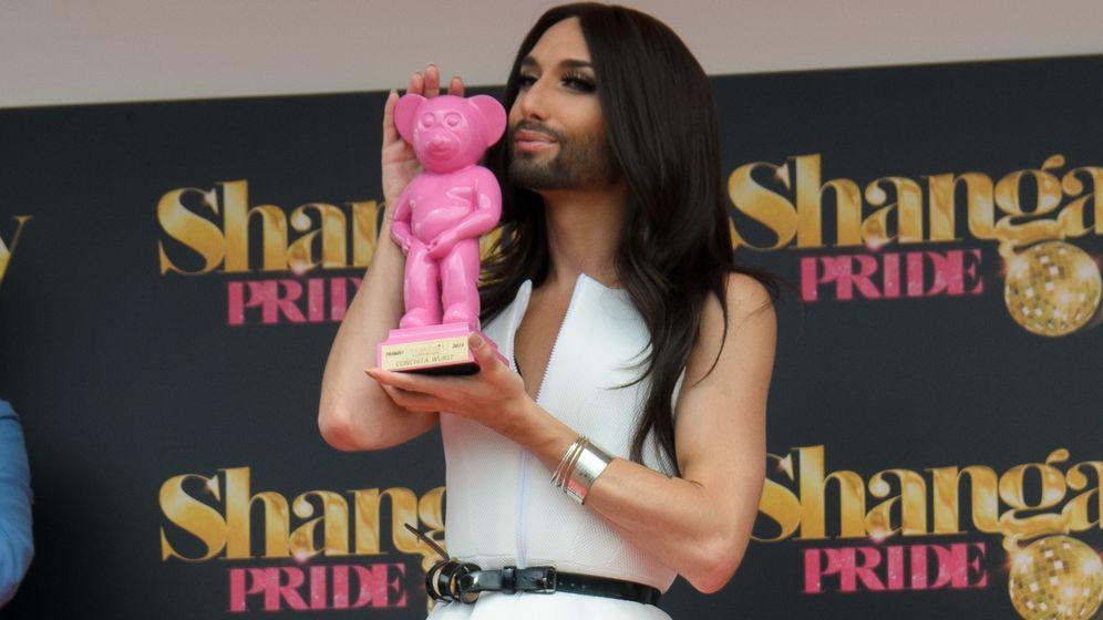 Foto: Conchita Wurst, premio Muestra-T por la reivindicación de los derechos LGTB