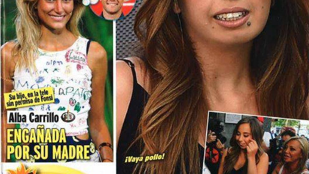 Kiosco rosa: un nuevo lío para Alba Carrillo y el nacimiento de una estrella, Andrea Janeiro