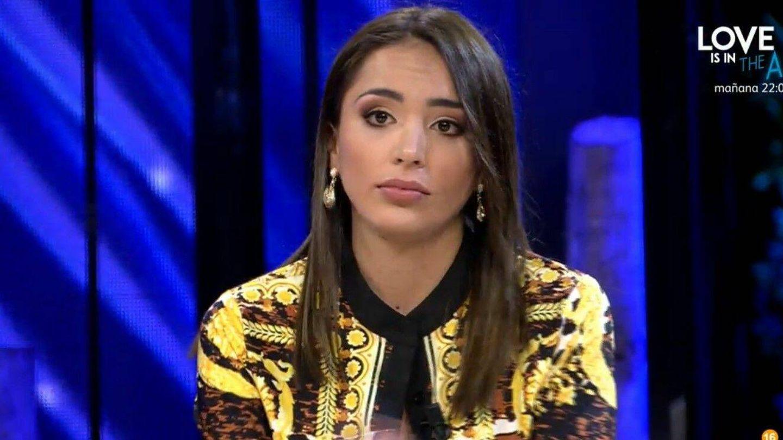 Sandra Pica, en 'Supervivientes'. (Mediaset)