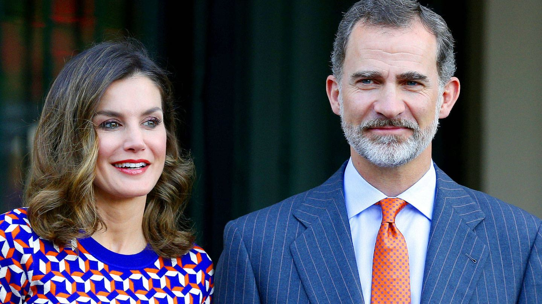 Felipe y Letizia en una imagen de archivo.  (Reuters)