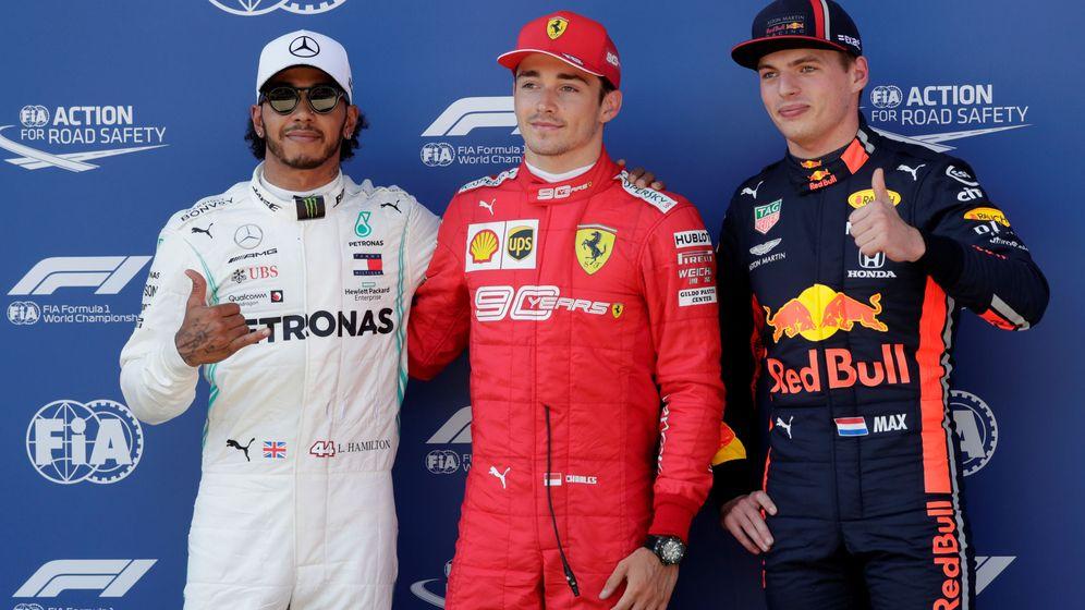 Foto: Leclerc consiguió la pole en Austria. (Reuters)