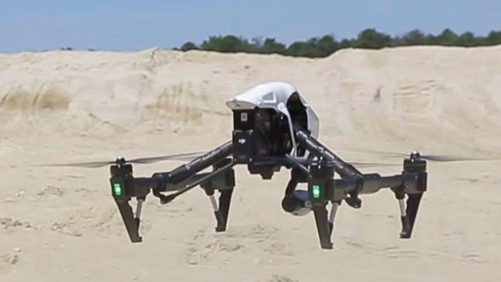 Foto: Un drone de Drone Spain. (www.Dronespain.pro)